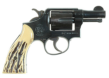 Smith & Wesson model 10 revolver