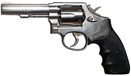 Smith & Wesson revolver for point shooting
