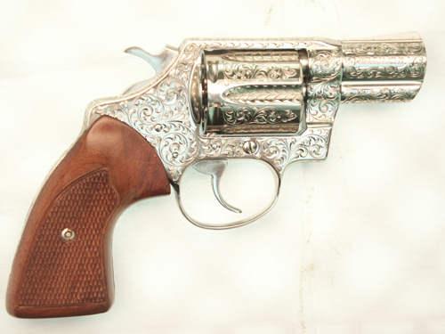 Engraved Colt Detective Special