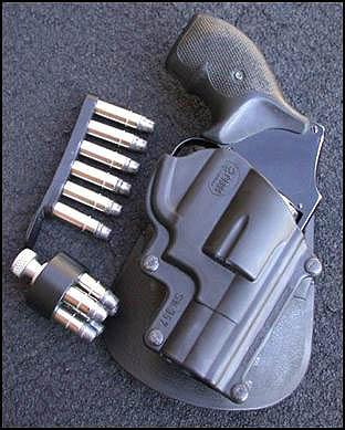 Smith & Wesson J-frame revolver