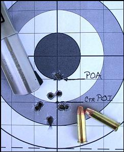 Ruger SP101 shooting