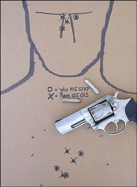 Ruger SP101 ammo comparison