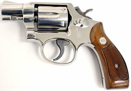 S&W model 10 revolver